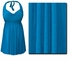 Turquoise Plus Size & Supersize Halter 2pc Swimdress  0x 1x 2x 3x 4x 5x 6x 7x 8x