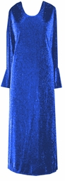 SOLD OUT! Amazing Customizable Blue Glimmer Plus Size & Supersize Dress or Shirt  1x 2x 3x 4x 5x 6x 7x 8x 9x