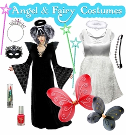 Angel & Fairy Plus Size Costumes