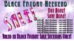 SORRY! CYBER WEEK OVER!! <br>CYBER WEEK BUY MORE SAVE MORE SALE! <br>LAST CHANCE!