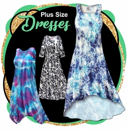 CLEARANCE PLUS SIZE DRESSES