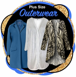 CLEARANCE PLUS SIZE OUTERWEAR