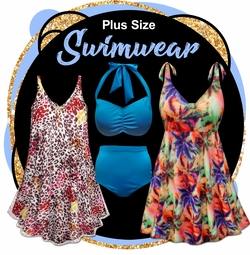 CLEARANCE PLUS SIZE SWIMWEAR