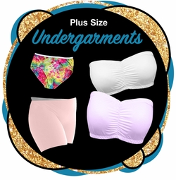 CLEARANCE PLUS SIZE UNDERGARMENTS