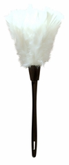 CLEARANCE! Black & White or Pink Maid's Feather Duster Halloween Costume Accessory