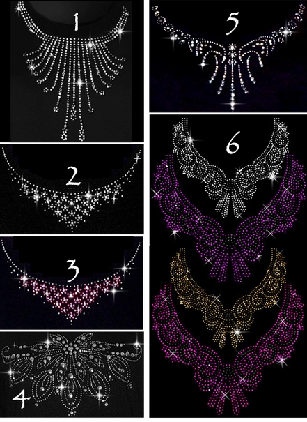 Choose From 9 Different Necklines!