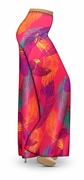CLEARANCE! Birds of a Feather Slinky Print Plus Size & Supersize Palazzo Pants 3x