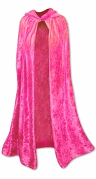 SOLD OUT! CLEARANCE! Pink Halloween Costume Cape Plus Size Supersize 1x-4x