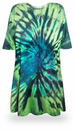 SOLD OUT! Mystery Lagoon Tie Dye Plus Size & Supersize X-Long T-Shirt 2x