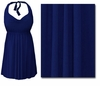 SOLD OUT! CLEARANCE! Navy 2PC Halter Style Swimsuit/Swimdress Plus Size & Supersize 8x