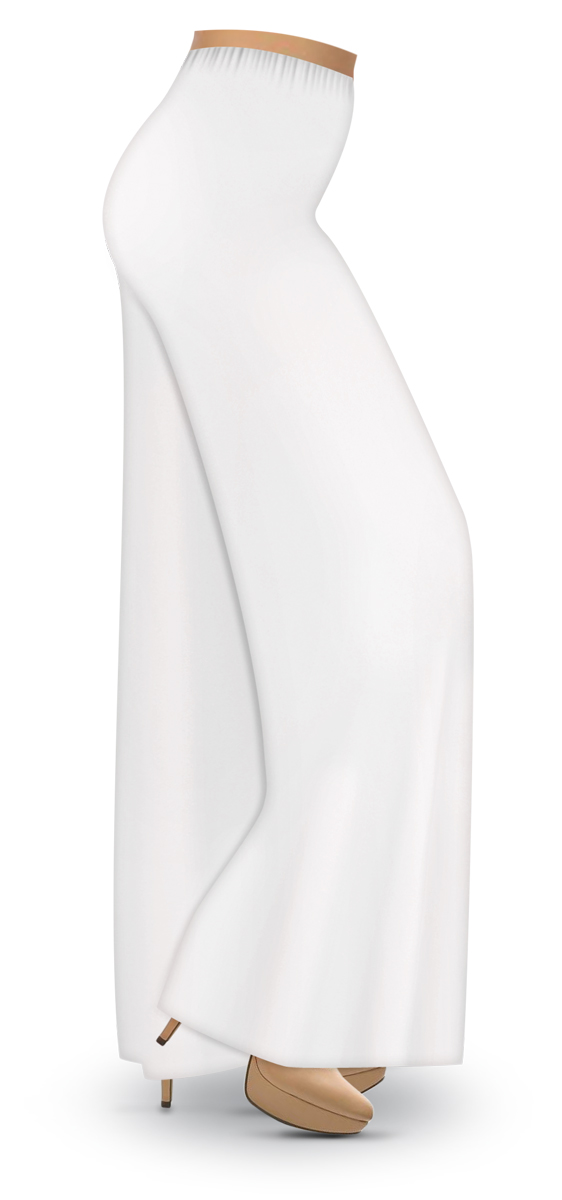2545d9b0898 White Plus Size Palazzo Pants - Best Style Pants Man And Woman