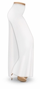 CLEARANCE! Plus Size White Wide Leg Palazzo Pants in Slinky, Velvet or Cotton Fabric 4x