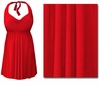 CLEARANCE! Plus Size Red 2PC Halter or Straps Style Swimsuit/Swimdress 0x 4x 6x