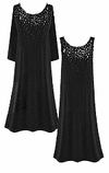 CLEARANCE SALE! Gorgeous Slinky or Velvet Sparkly Rhinestone Starry Night Plus Size Dresses 1x 5x 6x