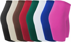 CLEARANCE! Plus Size Spandex Swim/Exercise Shorts Many Colors 0x 1x 2x 3x 4x 5x 6x 7x 8x