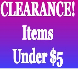 CLEARANCE! - Under $5