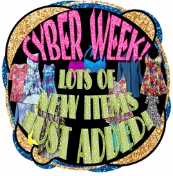 Cyber Week! New Plus Size Items Just Added Today!
