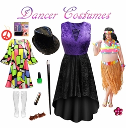Dance the Night Away! Plus Size Dancer Costumes