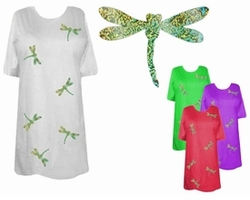 SOLD OUT! DragonFly Holograms Plus Size & Supersize T-Shirts 6x
