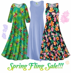 Spring Fling Plus Size Dresses on Sale!