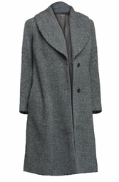 SALE! Plus Size Gray Tweed Coat 3x 4x