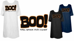 SOLD OUT! FINAL SALE! Black Spook for Candy Plus Size T-Shirts 1xl 2xl