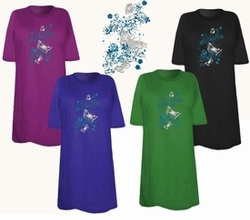 SOLD OUT! Butterfly Splatter! Plus Size & Supersize T-Shirts 4x
