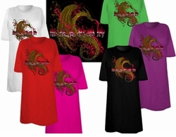 SOLD OUT! FINAL SALE! Dragon Fire Dragon Tattoo Plus Size & Supersize T-Shirts  4xl