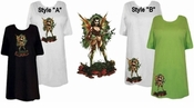 FINAL SALE! Grimm Faerie Plus Size & Supersize T-Shirts 5x