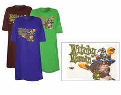 SOLD OUT! Halloween Witchy Woman Plus Size &Supersize T-shirt