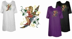 SALE! Bali Hai Mermaid Plus Size & Supersize T-Shirts 3XL