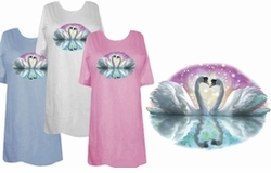 SOLD OUT! Shimmering Swans Plus Size & Supersize 6x