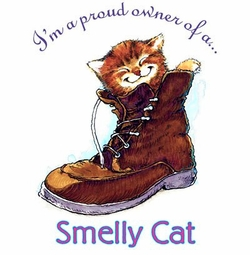 SOLD OUT! Smelly Cat Plus Size & Supersize T-Shirts S M L XL 2x 3x 4x 5x 6x 7x 8x  (Lights Only)