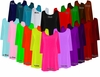 CLEARANCE! Solid Color Slinky Plus Size & Supersize Customizable A-Line Shirts XL 0x 1x 2x