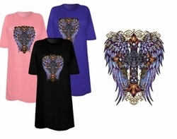 SOLD OUT! FINAL SALE! Western Wings Plus Size & Supersize T-Shirts 2xl