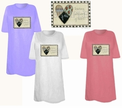 SOLD OUT! Work Of Hearts Plus Size & Supersize T-shirts 6xl