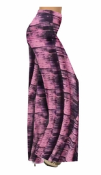 SOLD OUT!!!!!!!!!!!!!!!!!!!!Fun Pink Tiedye Print Yummy Slinky Print Special Order Customizable Plus Size & Supersize Pants, Capri's, Palazzos or Skirts! Lg to 9x