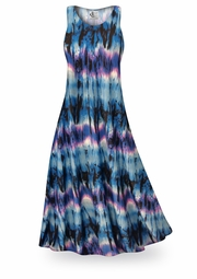 SOLD OUT! FINAL SALE! City Chic Slinky Print Plus Size & Supersize Standard or Cascading A-Line or Princess Cut Dresses 2X
