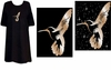 SOLD OUT! FINAL SALE! Just Reduced! Hummingbird Tattoo Plus Size & Supersize T-Shirts 2xl