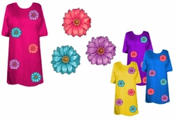 SOLD OUT! SALE! Sherbert Flowers Plus Size & Supersize T-Shirts 4x