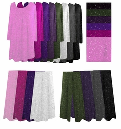 SOLD OUT!!!!Gorgeous Glimmer & Plain Tunic Pullover Sweater Tops, Dresses, Skirts or Pants Plus Size & Supersize L