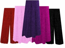 SOLD OUT! Gorgeous Glimmer Sweater Pants & A-Line Skirts - Plus Size & Supersize Lg to 9x