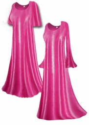 SOLD OUT! Gorgeous Sheer Light Pink Slinky Plus Size & Supersize Customizable A-Line or Princess Cut Dresses, Shirts, Pants, Skirts  or Jackets Lg to 9x