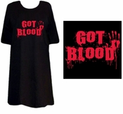 FINAL SALE! Got Blood Plus Size Supersize T-Shirts XL