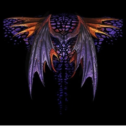 SALE! Gothic Dragon Wings Plus Size & Supersize T-Shirts S M L XL 2x 3x 4x 5x 6x 7x 8x