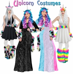 Hot! New Plus Size Unicorn Costumes!