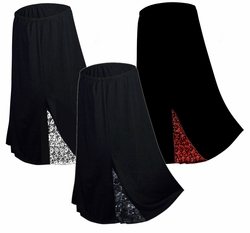 CLEARANCE! Hot! Slinky or Velvet Lace Gothic Skirts Plus Size & Supersize 2x/3x