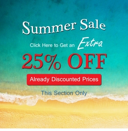 Plus Size Summer Blowout Sale!  25% Off Section