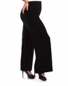 NEW! Plus Size Black Wide Leg Stretchy Slinky Palazzo Pants 4x 5x 6x