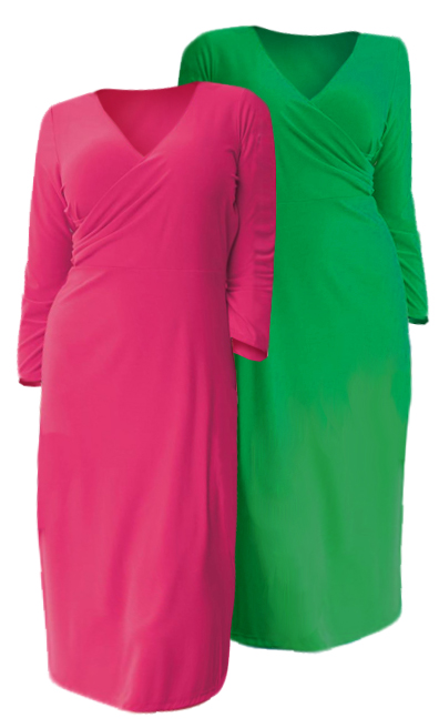 SOLD OUT! SALE! Kelly Green or Pink Fuchsia 3/4\